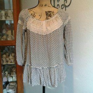 Cute lace tunic